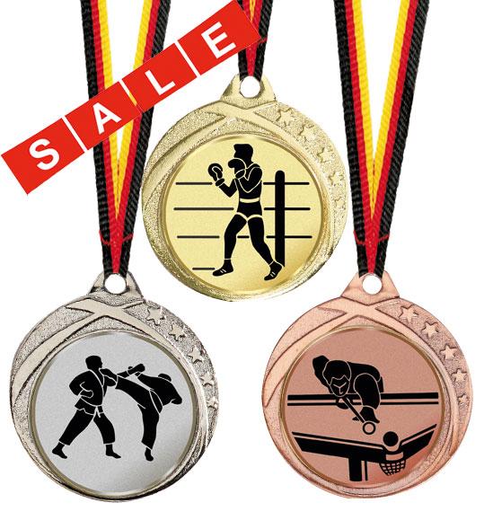 Medaille alle Sportarten 32 mm Ø Medaillen Standardmedaillen