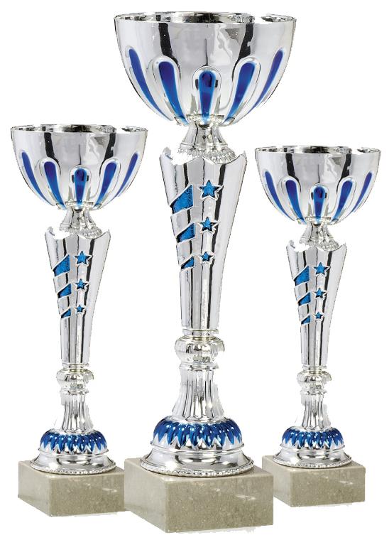 Pokale aus 3er Pokalserie: 9-13-0403- 9-13-0405 , 34 cm - 40 cm