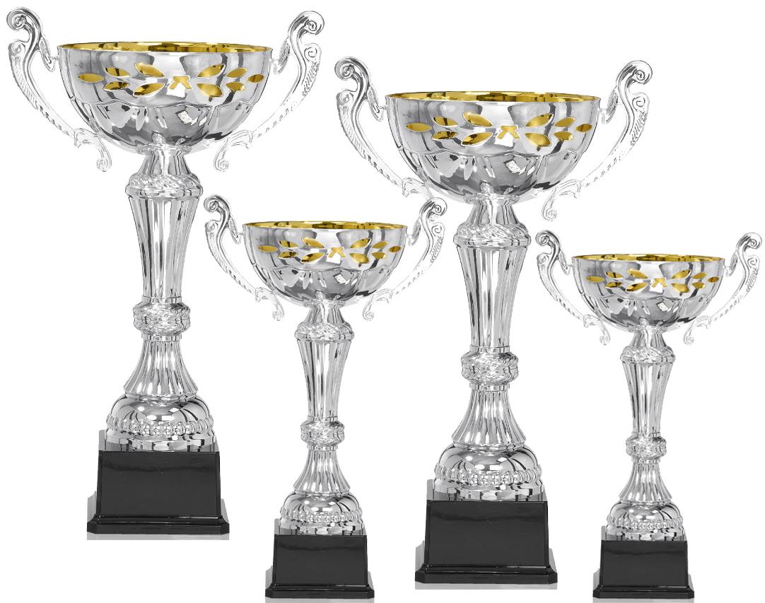 Pokale aus 4er Pokalserie: 9-15-0511 - 9-15-0514, 31 - 40 cm