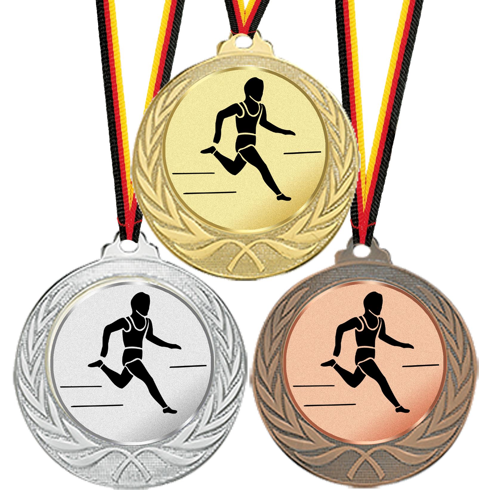 Medaille für alle Sportarten 70mmØ Medaillen Standardmedaillen