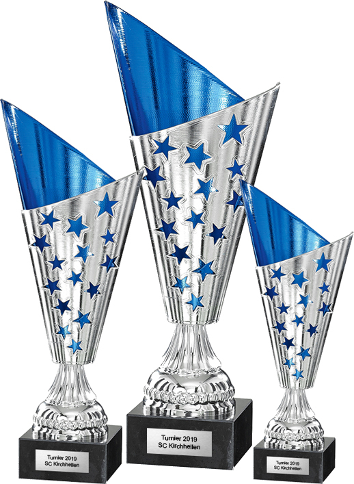 3er Pokalserie 23-35cm Figuren Pokal