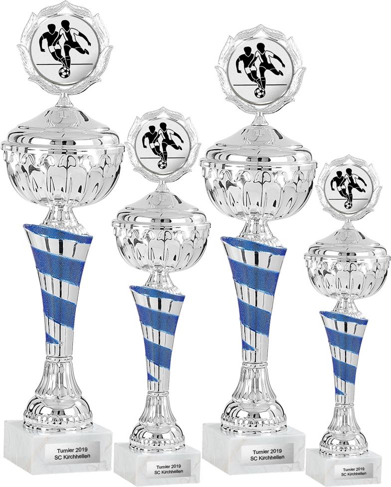 4er Pokalserie 27-34cm Pokale Goldpokal Gold