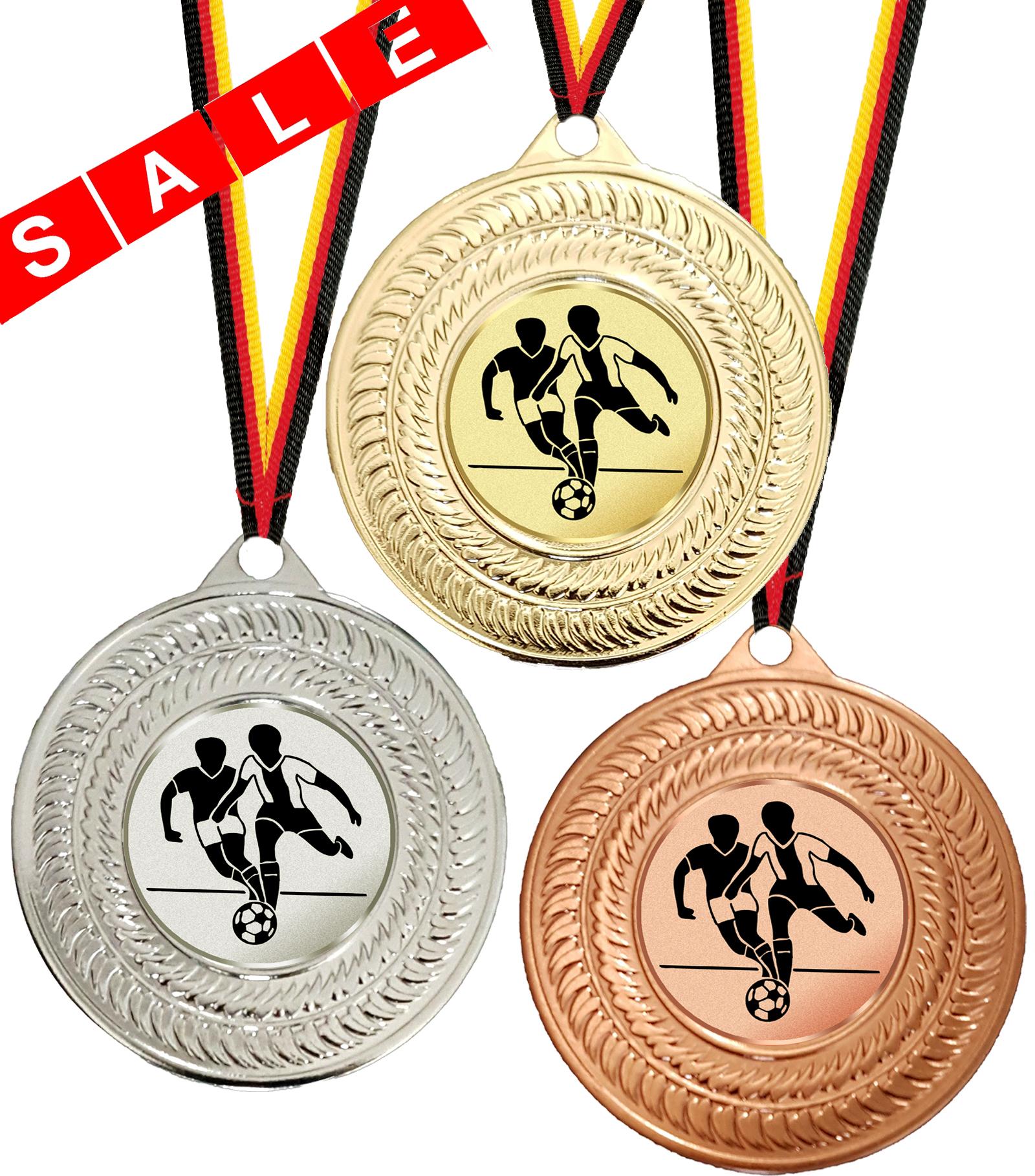 Medaille günstig mit Emblem für alle Sportarten Medaillen Standardmedaillen