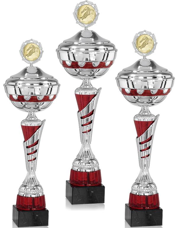 Pokale aus 3er Pokalserie: 9-32-1923D - 9-32-1925D.3, 42 - 51 cm
