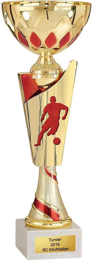 Fußball Pokal 31cm Figuren Pokal