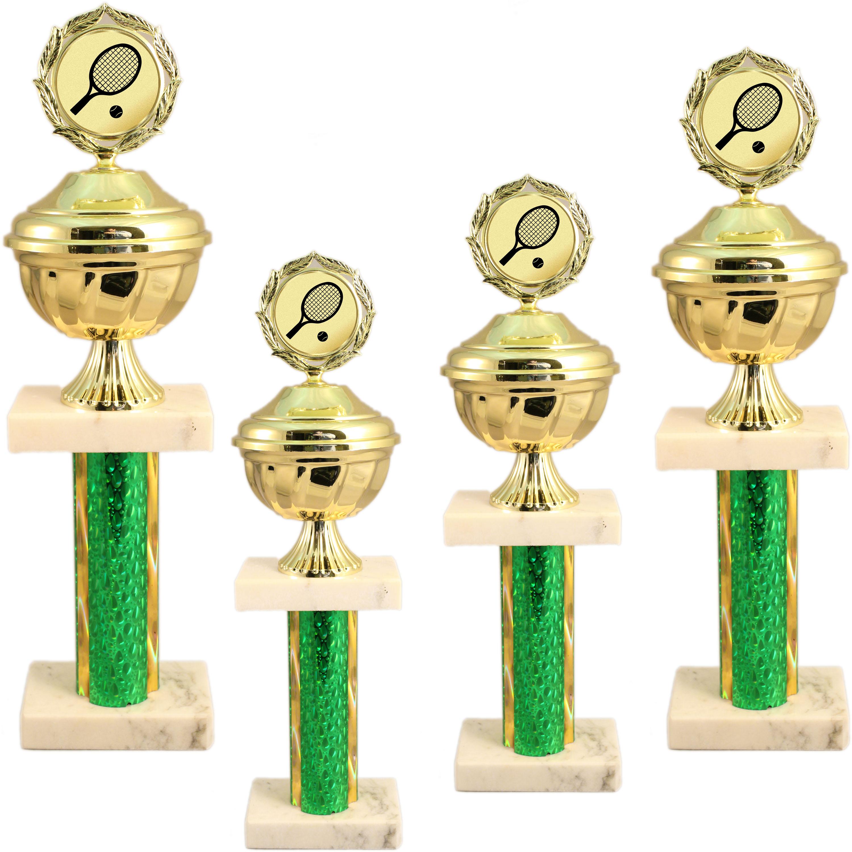 Pokale aus 4er Pokalserie: 80260 - 80263 in 37,5 bis 43,0 cm