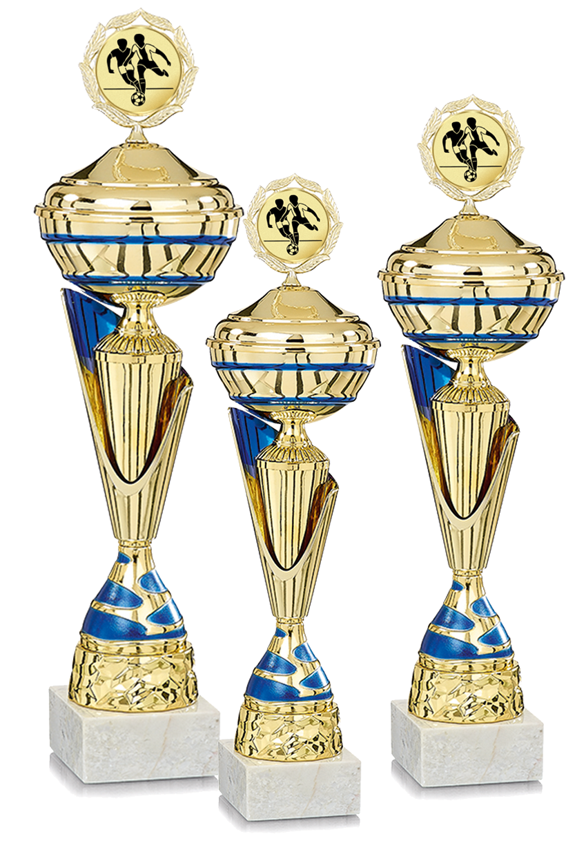 3er Pokalserie 40-46cm Pokale Silberpokal silber