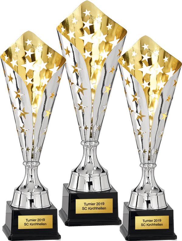 3er Pokalserie 43-46cm Figuren Pokal