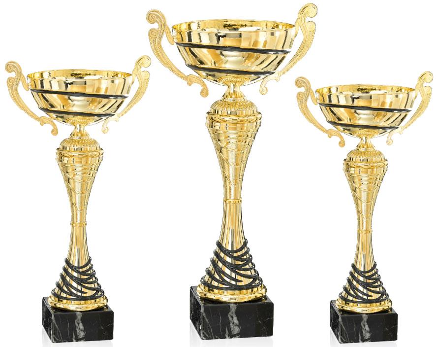 Pokale aus 3er Pokalserie: 9-39-02 - 9-39-04, 34 - 44 cm