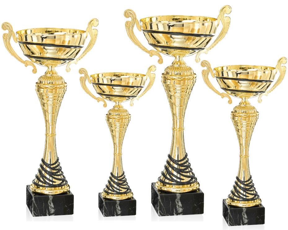 Pokale aus 4er Pokalserie: 9-39-01 - 9-39-04, 29 - 44 cm