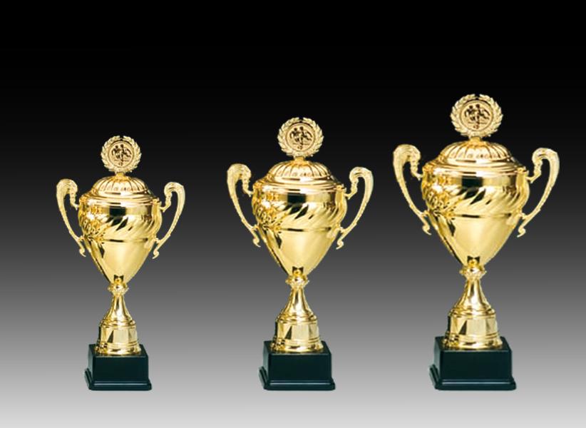 Pokale aus 3er Pokalserie: 68587 - 68589, 55,5 - 65,0 cm