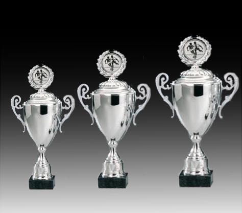 Pokale aus  3er Pokalserie: 69127 - 69129, 44,0 - 53,5 cm