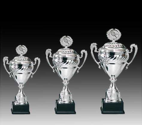 Pokale aus 3er Pokalserie: 68607 - 68609, 55,5 - 65,0 cm