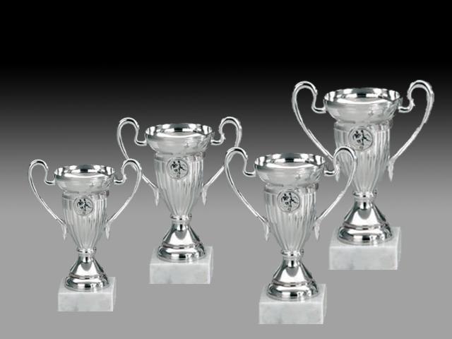 Pokale aus 4er Pokalserie: 46629 - 46632, 11,0 - 16,5 cm