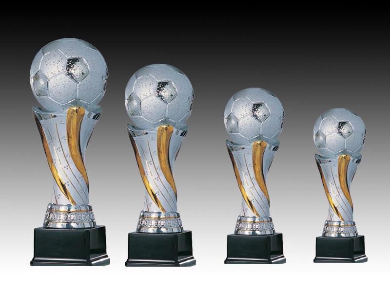 Pokale aus 4er Keramik-Pokalserie: 9-84-01 - 9-84-04, 28,0 - 43,0 cm
