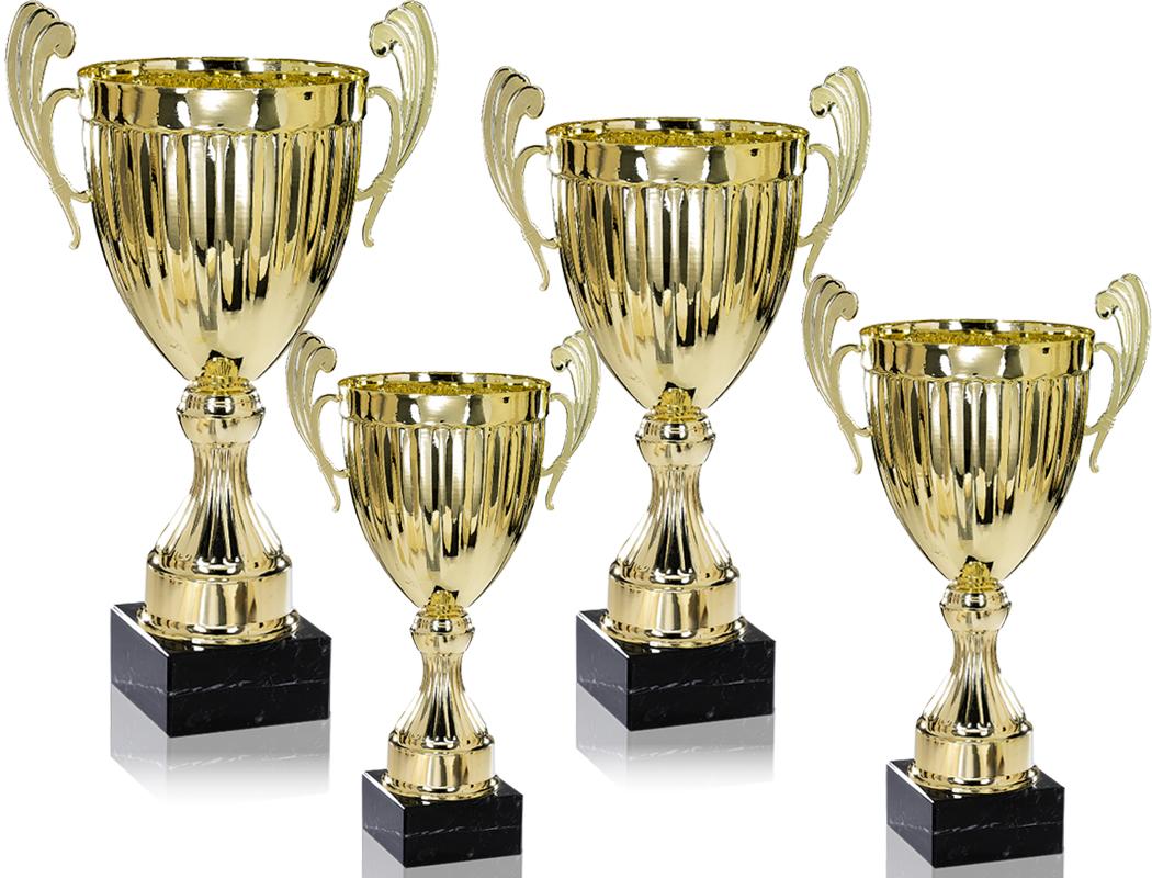 Pokale aus 4er Pokalserie: 9-66-5021 - 9-66-5024.4, 26,0 - 37,0 cm