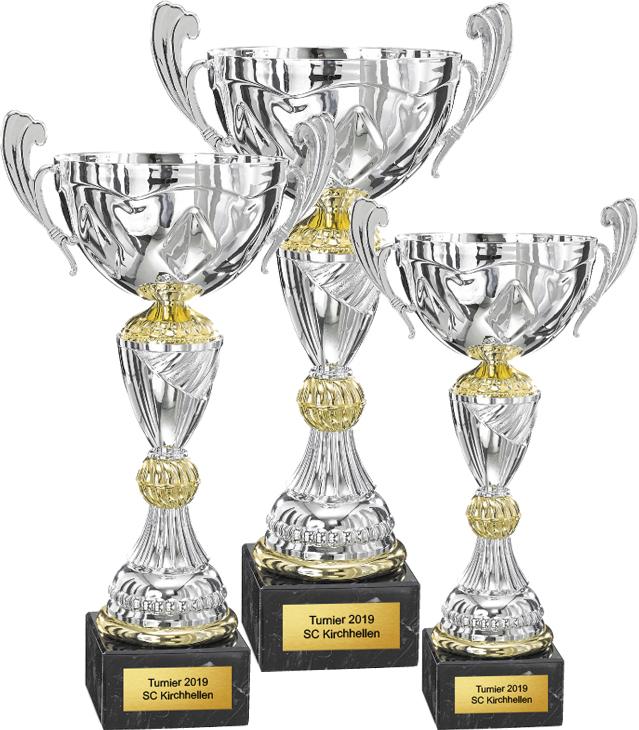3er Pokalserie 28-37cm Figuren Pokal