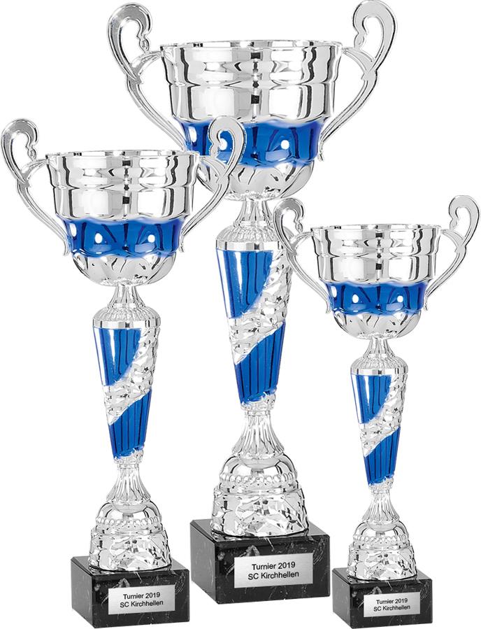 3er Pokalserie 33-46cm Pokale Pokale ohne Deckel