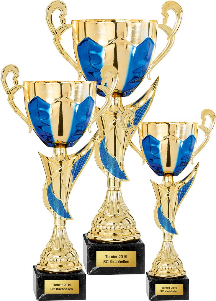 3er Pokalserie 30-43cm Pokale Pokale ohne Deckel