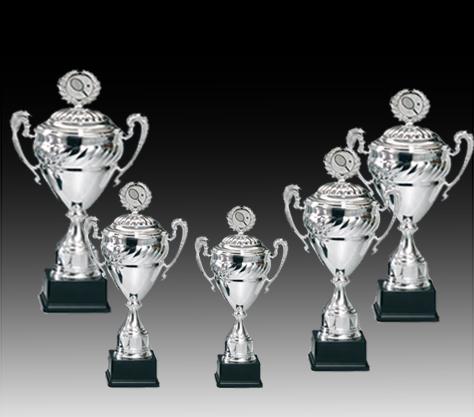 Pokale aus 5er Pokalserie: 68600 - 68604, 36,0 - 46,0 cm