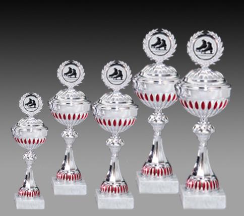 Pokale aus 5er Pokalserie:  65835- 65839, 36,0 - 44,5 cm