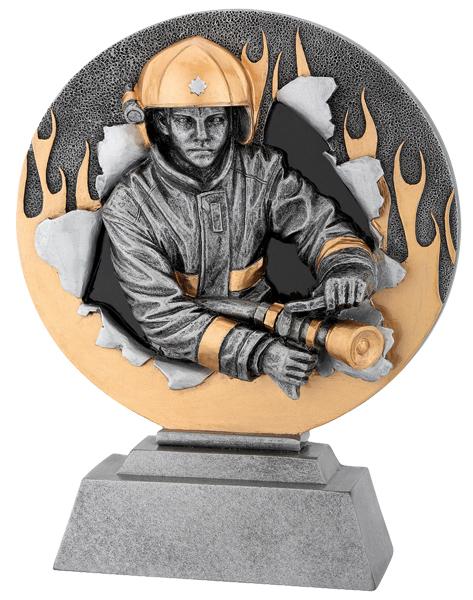 Feuerwehr-Trophäe Figuren Pokal ohne Emblem