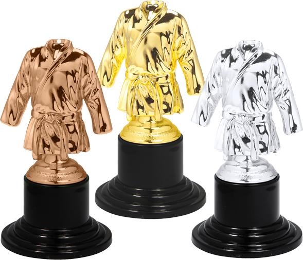 Mini Kampfsport Pokal 10 cm Medaillen Premium hochwertig edel