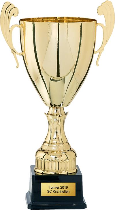 Pokal 26cm Pokale Pokal ohne Emblem