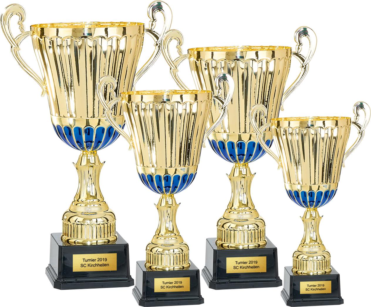 4er Pokalserie 35-49cm Pokale Pokale ohne Deckel