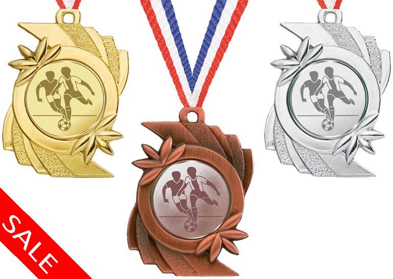 Medaille günstig mit Emblem für alle Sportarten