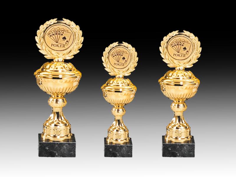 Pokale aus 3er Pokalserie: 69030 - 69032, 22,5 - 26,0 cm