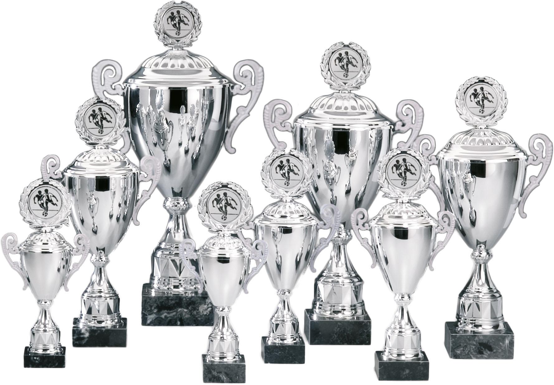 Pokale aus 10er Pokalserie: 69120 - 69129, 29,0 - 53,5 cm