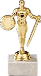 Siegesfigur 15cm Figuren Pokal mit Emblem