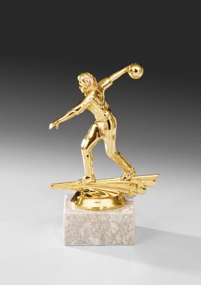 Figur 69702: Bowling/Kegeln Frauen, 13,5 cm Figuren Pokal