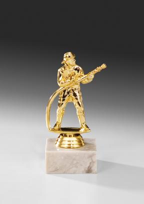 Feuerwehr-Figur: 69709 Feuerwehrmann, 15,0 cm Figuren Pokal