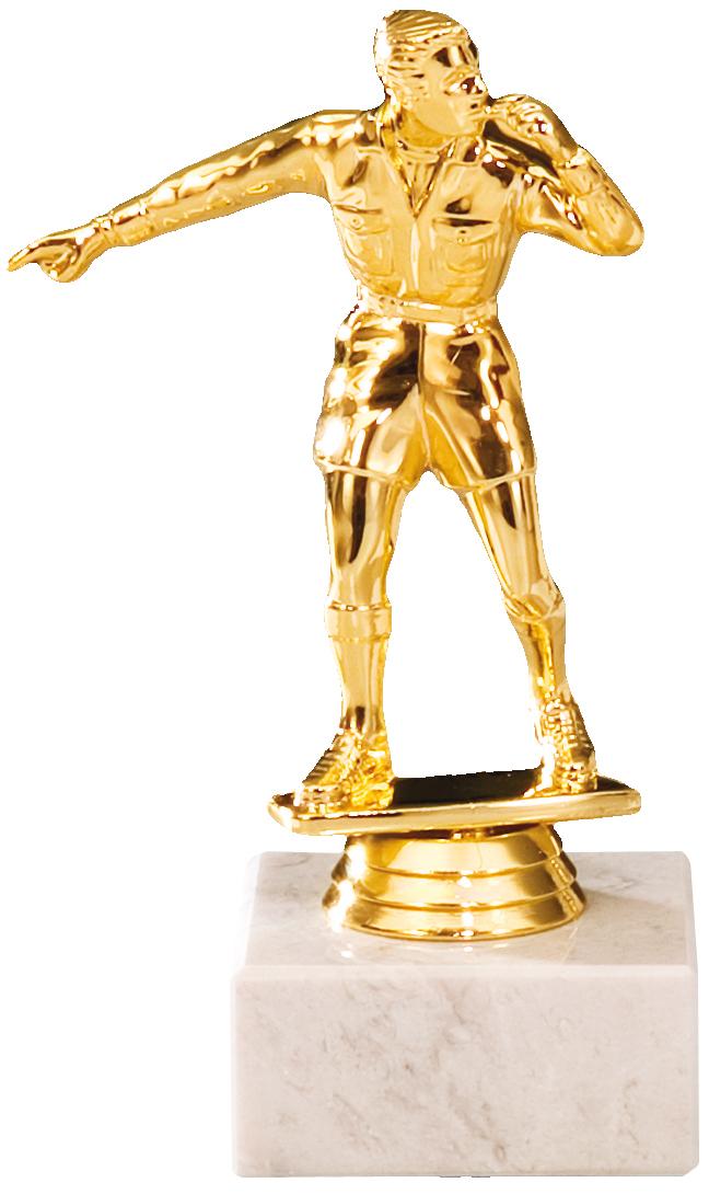 Fußballfigur Schiedsrichter 16cm Figuren Pokal