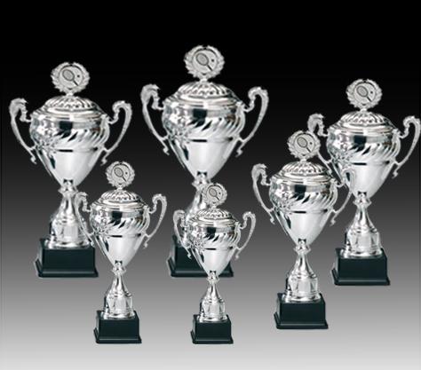 Pokale aus 6er Pokalserie: 68600 - 68607, 36,0 - 55,5 cm