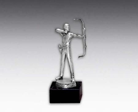 Bogenschießen- Figur: 716 Bogenschütze, 15,0 cm Figuren Pokal