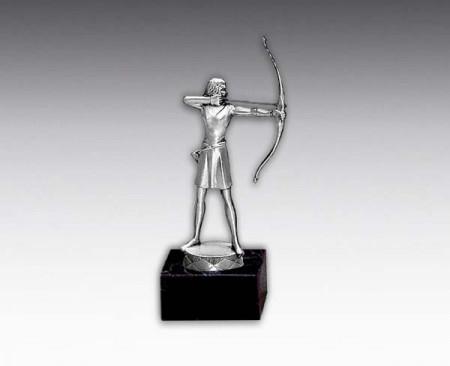 Bogenschießen-Figur: 717 Bogenschützin, 15,5 cm Figuren Pokal