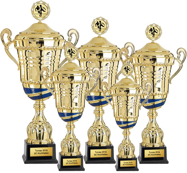5er Pokalserie 45-63cm Pokale Pokal ohne Emblem