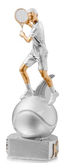 Tennis Trophäe Figuren Pokal ohne Emblem