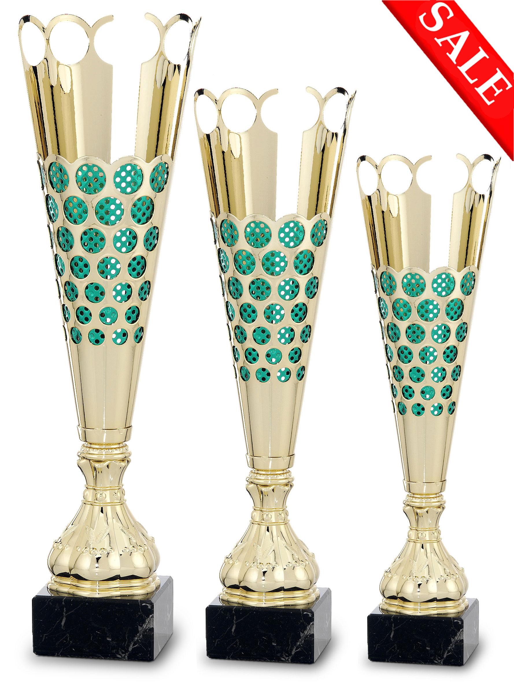 3er Pokalserie:  36,5-46,0 cm Pokale Pokal ohne Emblem