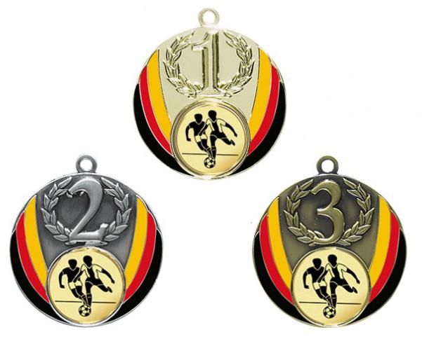 Medaille Zahl, mit Emblem für alle Sportarten