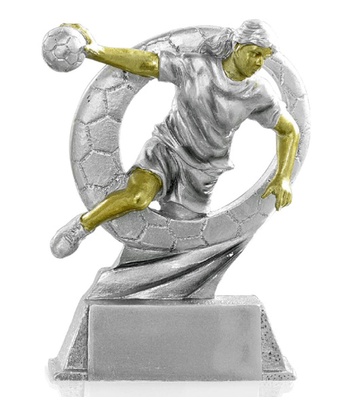 Figur Handball Damen 17cm Figuren Resinfiguren