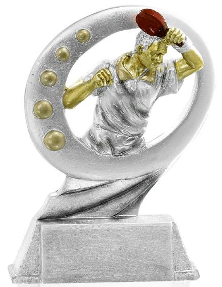 Pokale Tischtennis Figur 17cm Figuren Resinfiguren