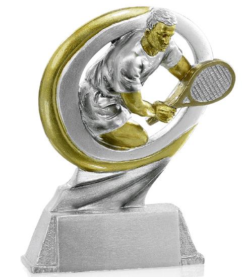Pokale Tennis Figur 17cm Figuren Resinfiguren