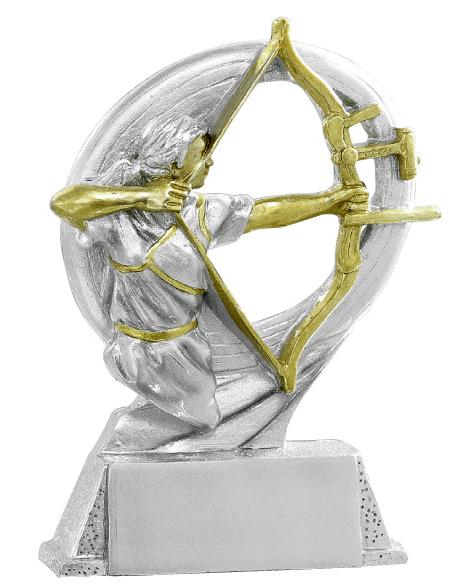 Pokale Bogenschiessen Figur: 9-106-71424 in 17 cm