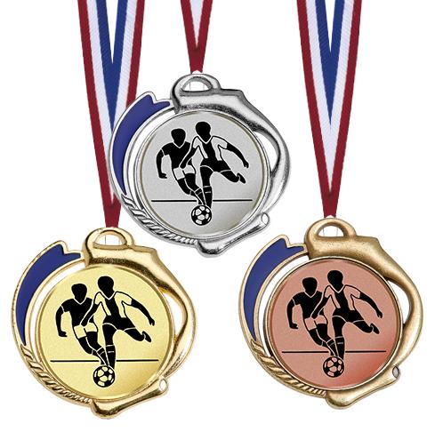 Medaille mit Emblem, für alle Sportarten Medaillen Standardmedaillen
