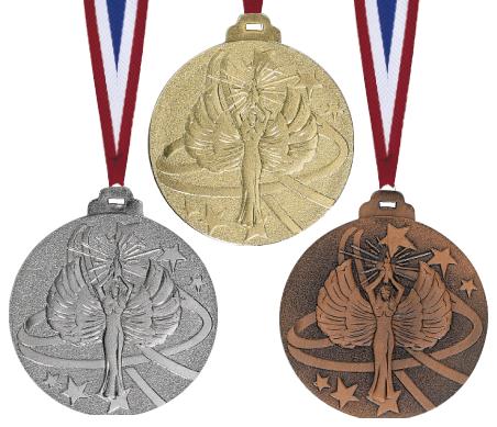 Siegermedaille Metall geprägt Medaillen Premium hochwertig edel