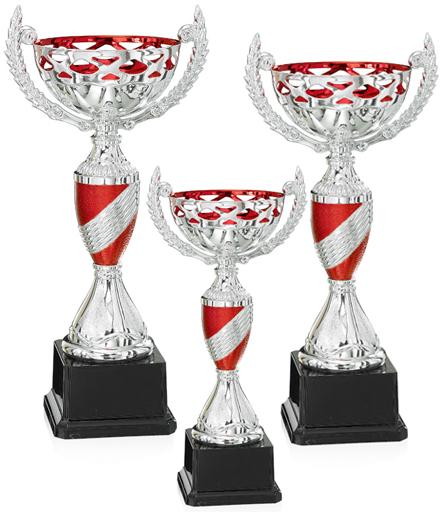 Pokale aus 3er Pokalserie: 9-28-52 - 9-28-54, 34 - 41 cm